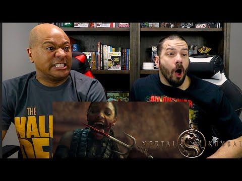 Mortal Kombat 2021 - Official Red Band Reaction - NocBro Nation