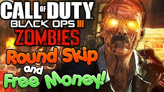 Black Ops 3 Zombies Easter Egg - Skip Rounds Trick,  FREE MONEY, Points! (COD BO3 Shadows Of Evil)