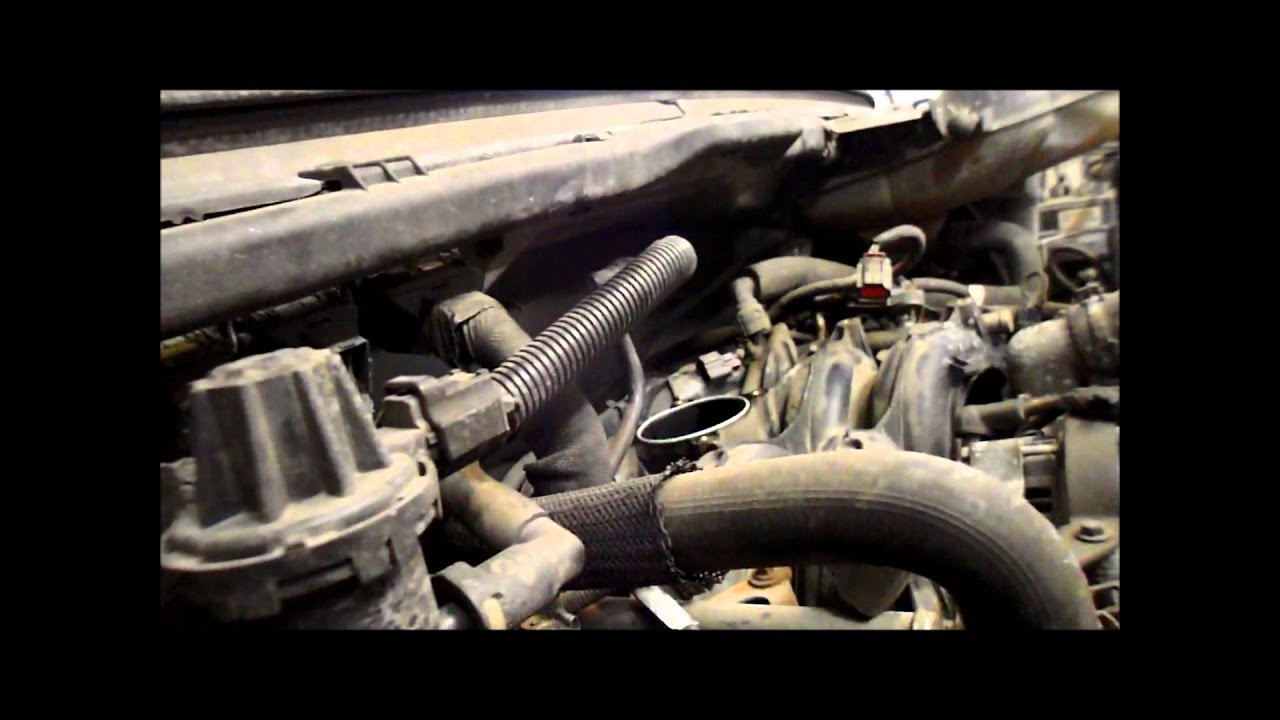 How To Replace The Throttle Body On All Ford F Series 54 And 46 L6 20 Wiring Diagram