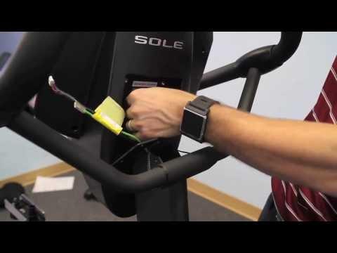 Sole Fitness LCB Upright Bike Installation Step 4/4