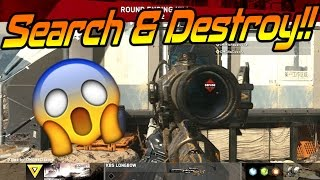 INSANE IW SnD SNIPING!! (New Infinite Warfare Search and Destroy)