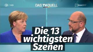 Merkel vs Schulz: Das TV-Duell zur Bundestagswahl 2017