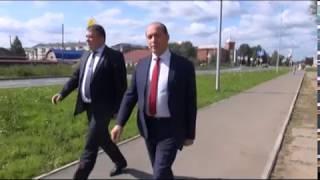Верхнюю Салду посетил министр строительства и развития инфраструктуры