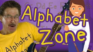 Alphabet Zone | Alphabet Song For Kids | Phonics And Letter Sounds | Jack Hartmann