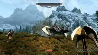 The Elder Scrolls V- Skyrim E3 Gameplay Demo    Скайрим гемплей трейлер