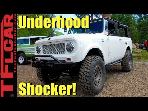 Scout/Jeep/Cummins Turbo-Diesel Mashup Resto-mod Monster 4X4 Revealed