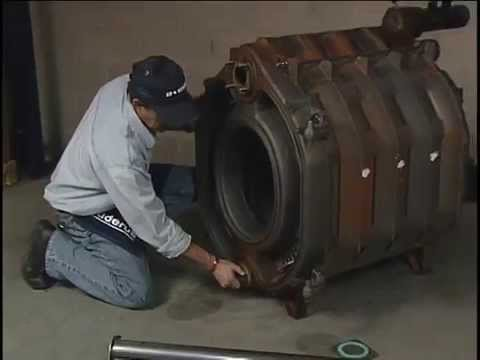 cast iron boiler assembly video youtube. Black Bedroom Furniture Sets. Home Design Ideas