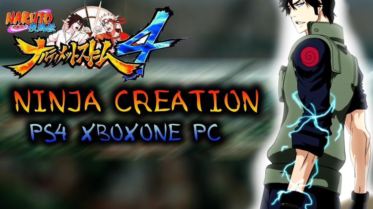 Naruto Shippuden Game Character Creation   Games World