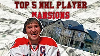 TOP 5 NHL PLAYER MANSIONS!!