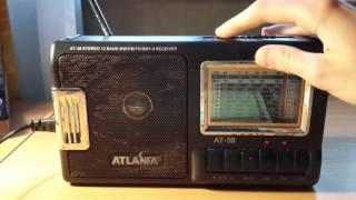 Обзор радиоприёмника ATLANFA AT-58