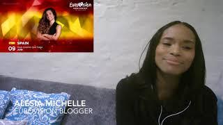 REACTION: OT Eurovision 2019 [Alesia Michelle]
