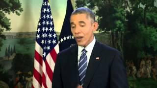 Kari Lake chats with President Obama