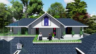 3d Visualization Kerala House Model, 3d House, 3d Walkthrough