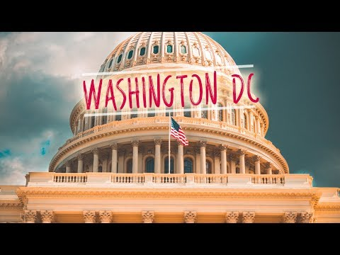 Washington DC - A Cinematic Journey || Sony A7Rii [HD]