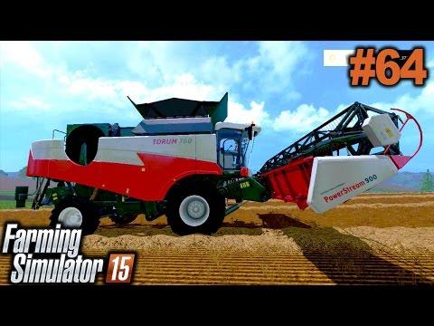 FARMING SIMULATOR 2015: Usando a nova ceifadeira - DLC Silver [XBOX 360].