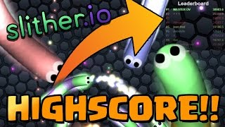 ULTIMATE SLITHER.IO SERVER! - (Slither.io World Record)