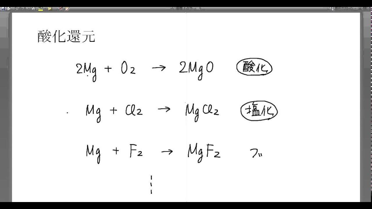高校化学解説講義:「酸化還元反...
