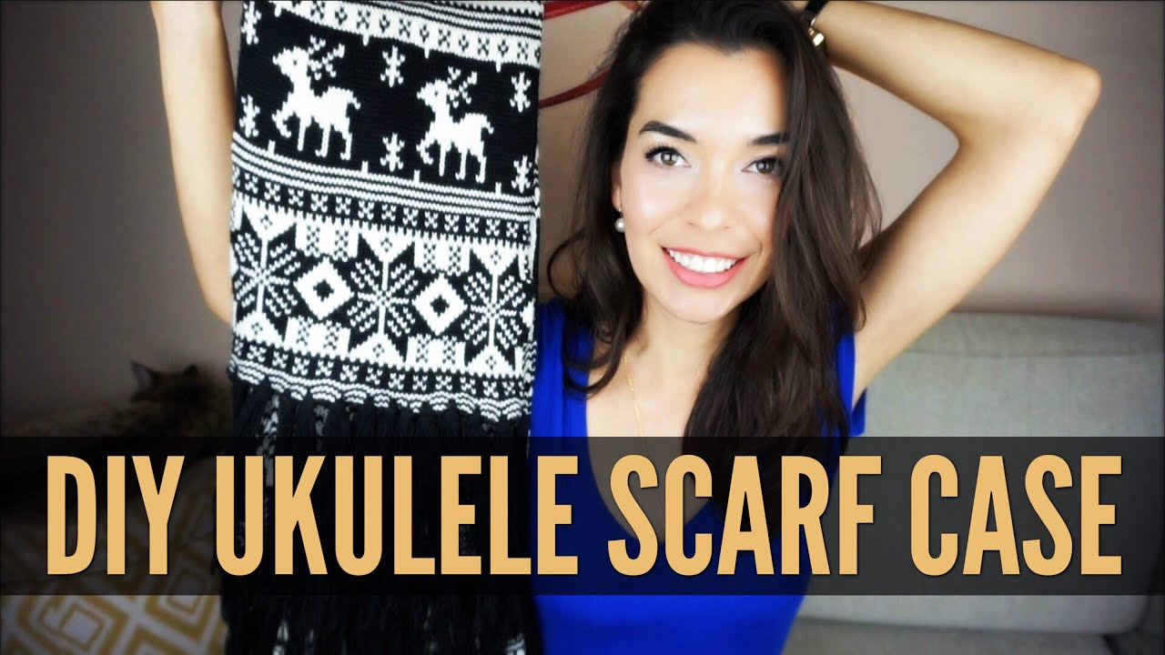 Make a ukulele case from a scarf do it yourself youtube make a ukulele case from a scarf do it yourself solutioingenieria Images