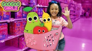 We Are Fruit Goo Goo Gaby! (Learn to Shop For Healthy Foods with Goo Goo Girlz)