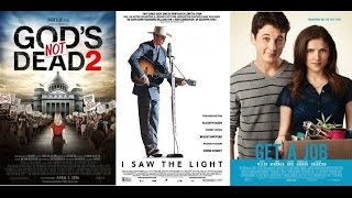 AJ's Movie Reviews: God's Not Dead 2, I Saw The Light & Get A Job(4-1-16)