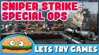 SNIPER STRIKE: SPECIAL OPS 📵 It's More Menu Than Game 🍔 Lets Try Games 🍔