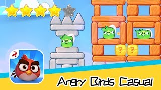Angry Birds Casual Level 48-49 Walkthrough Sling birds to solve puzzles! Recommend index four stars