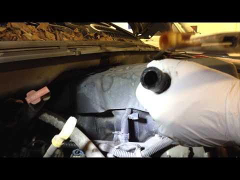 Replacing Broken Heater Hose Connector On Chevy Silverado - GM Heater Hose Connector Replace