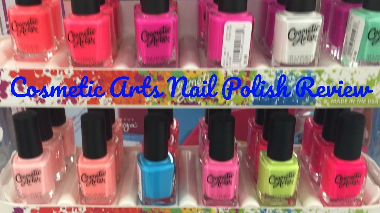 Cosmetic Arts Nail Polish Review - YouTube