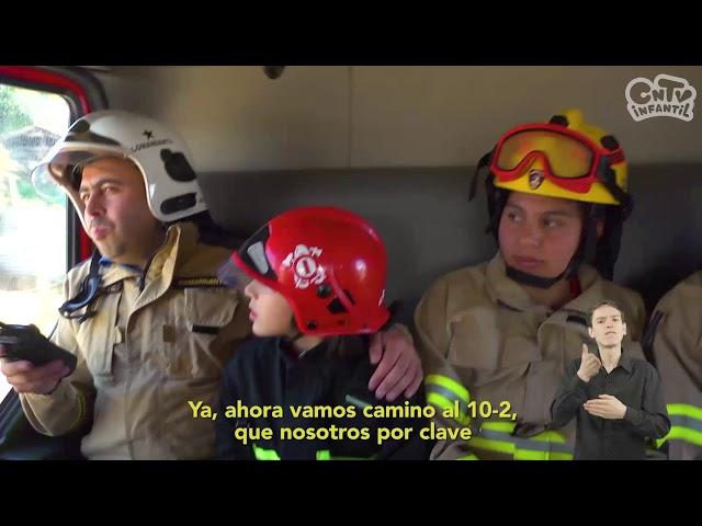 Bombero: Y tú, ¿En qué trabajas? | Videos en lengua de señas chilena para niños