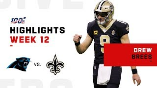 Drew Brees Gets the Big Win w/ 3 TDs | 2019 NFL Highlights