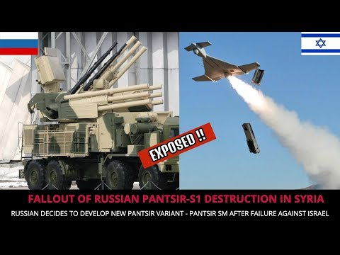 PANTSIR SM - RUSSIA'S NEW AIR DEFENSE SYSTEM VARIANT TO COUNTER ISRAEL !!