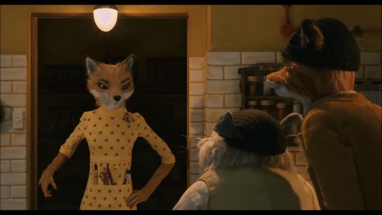 Fantastic Mr Fox 2009 If What I Think Is Happening Is Happening It Better Not Be Youtube