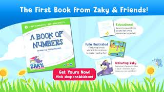 Zaky's First Ever Book!