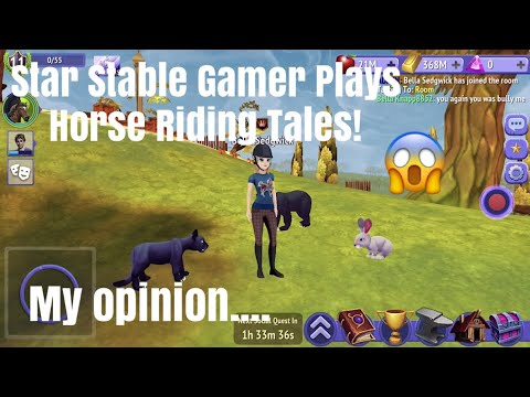 STAR STABLE GAMER PLAYS HORSE RIDING TALES