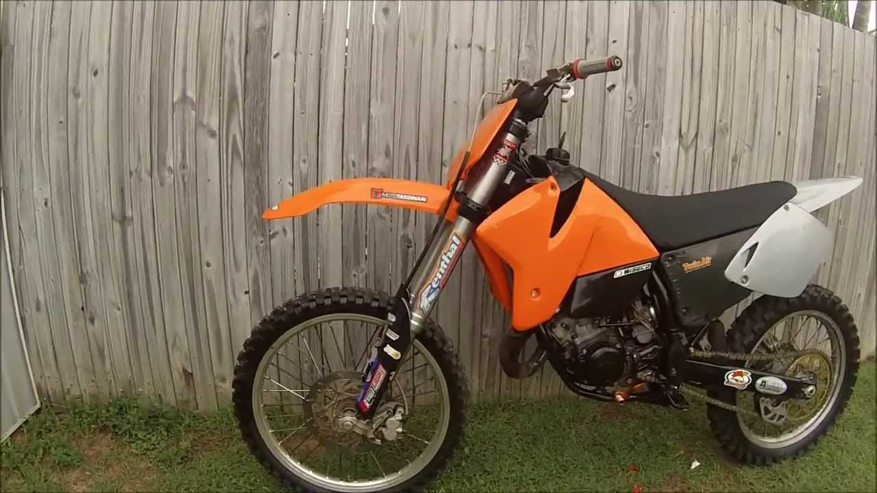 my new 2000 ktm 125 - youtube