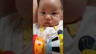 20210209 우지닝 백일선물 받은 아기 D+100