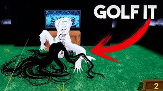 🔴EL TERROR NOS ACECHA | GOLF IT | GAMEPLAYSMIX