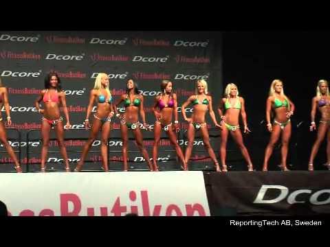Bikini Fitness Competition, Alingsås, Sweden, 2014-03-29