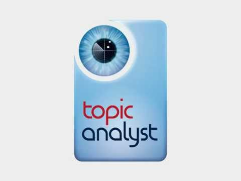 Topic Analyst® -- Benefits live!