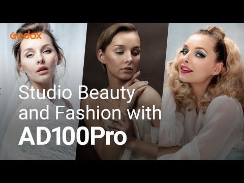 Studio Beauty and Fashion with #AD100Pro | Godox Photography Lighting Academy EP01 - Видео онлайн