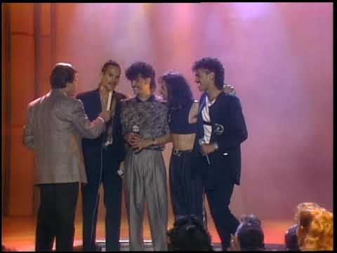 American Bandstand 1987- Interview DeBarge