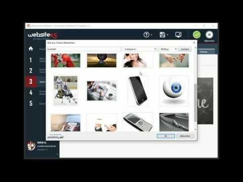WebSite X5 Evolution 12 - Kleine Einführung