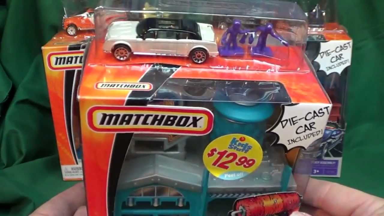 Matchbox Car Wash Mini Playset Youtube