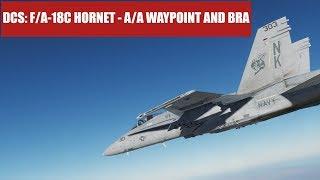 DCS: F/A-18C Hornet - A/A Waypoint and BRA Calls