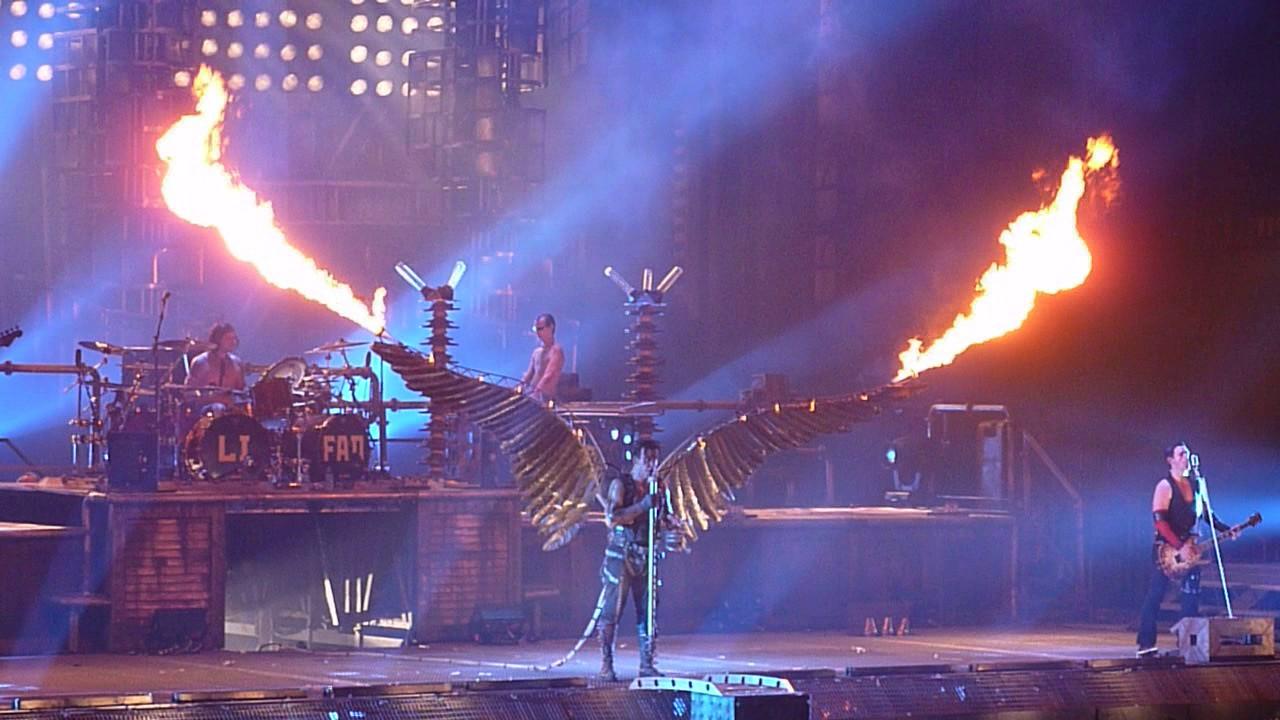 Rammstein Engel Madison Square Garden 11 12 2010 Youtube
