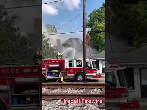 05/20/19 242 S Main St Working Fire Mooresville
