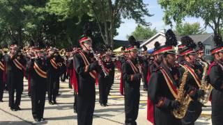 Schaumburg HS Band SeptemberFest Parade 2016