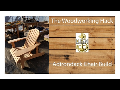 Adirondack Chair Build...plans from Rockler...It came out great!