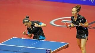 World Tour Grand Finals Highlights: Zhenqi Barthel/Shan Xiaona Vs Cheng I-C./H. Yi-Hua (1/2 Final)