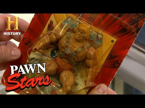 Pawn Stars: He-Man Action Figure | History